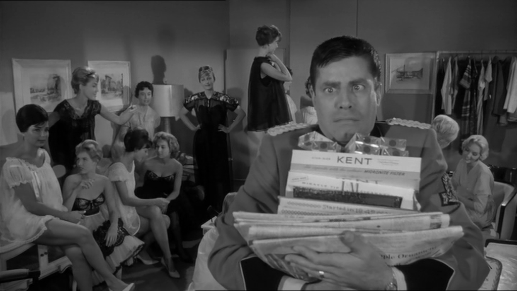 Quirky Jerky: Jerry Lewis in THE BELLBOY (Paramount 1960) – cracked rear  viewer